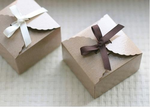 Square Designer Corrugated Boxes