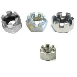 Hexagonal Head Slotted Nut