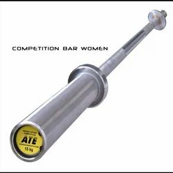 ATE Olympic Weightlifting Bar Women  2.01 mts ( 15 Kg ).