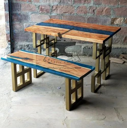 Epoxy and Resin Table - Epoxy Table Set Manufacturer from