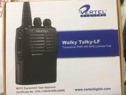 License Free Vertel Walky Talky Radio