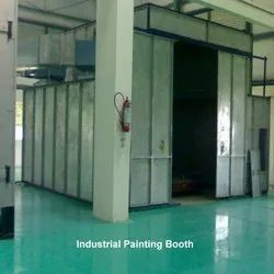 Paint Booth Scrubber System