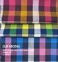 LN Moda Yarn Dyed Linen Check