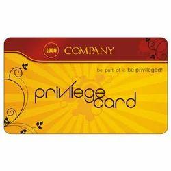 Plastic Privilege Card