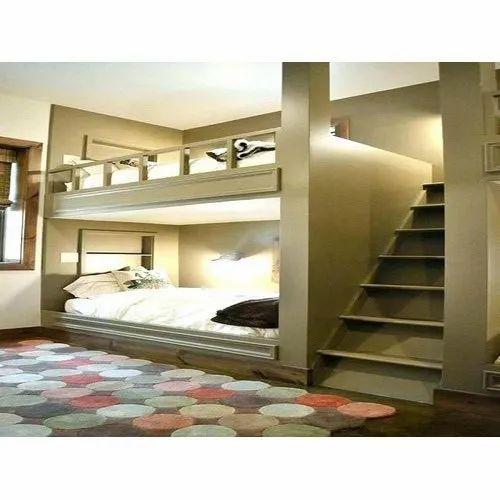 Termite Resistant Sagwan Wood Kids Room Bunk Bed Rs 12000 Unit Id 20710672388