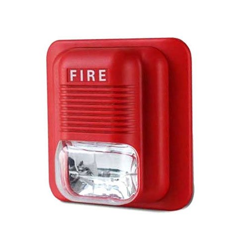 Red Fire Strobe Siren