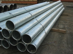 18 Meter Welded Galvanized Pipe, Size: 1/2 & 3 Inch