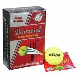 Yellow Cricket Tennis Balls