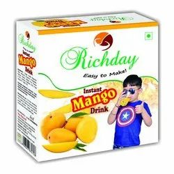 Richday Instant Mango Dink, Packaging Size: 500 gm, Packaging Type: Box