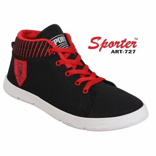 171560120 Read More · Sporter Men Black-727 Casual Shoes