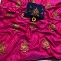 Sana Silk Saree With Embroidered Work