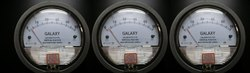 Galaxy Magnehelic Gauge Model G2000-50MM Range 0-50 MM WC