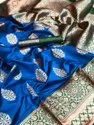 Party Wear Banarasi Katan Silk Saree