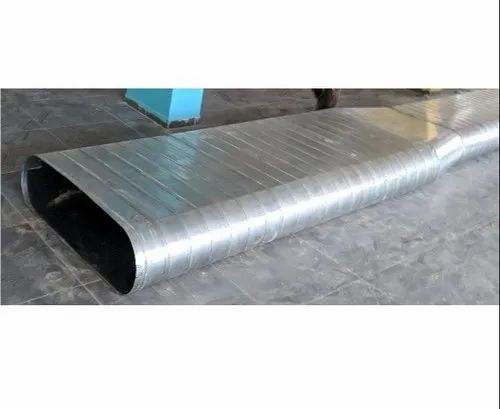 Stainless Steel Oval Spiral Duct