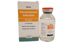 Paracetamol Infusion Injection 1% w/v