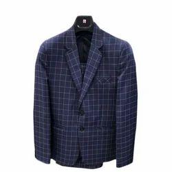 Medium And Large Blue Mens Suit
