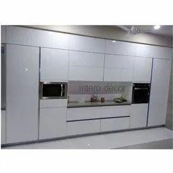 Straight Stainless Steel Modular Kitchen, Warranty: 1-5 Years