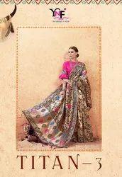 Titan Vol.3 Banarasi Art Silk Saree