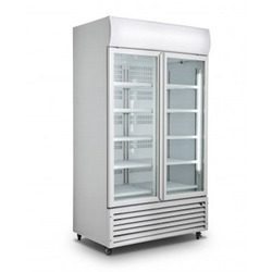 Display Fridge Upright Cooler, Capacity: 1000 L