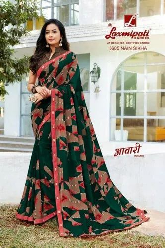 bce4de8d8bba3b Laxmipati Awaari 5682-5705 Series Beautiful Printed Ladies Sarees at ...