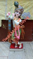 Marble Murli Krishna Statue