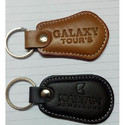 Polished Leather Key Rings