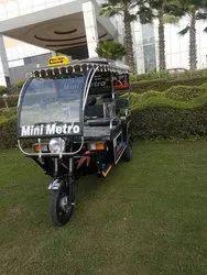 Mini Metro E Rickshaw
