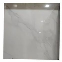 Square Glossy Ceramic Floor Tile, Size: 600x600 mm, Thickness: 20-25 mm