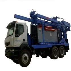 Piling Rig mounted on a Truck