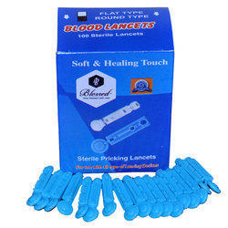 Blood Sterile Lancets 100 pieces