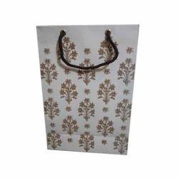 Printed Hand Made Paper Bag