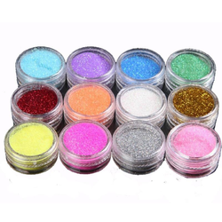 Coloured Glitter Powder