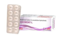Montelukast Sodium & Levocetirizine Hydrochloride Tablet, Packaging: Blister Pack