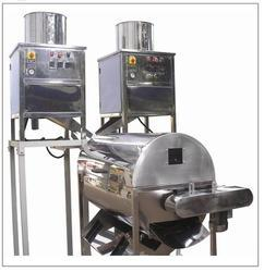 Oscar Cashew Tech Kernel Peeling Machine, Capacity: 80 Kg/Hr