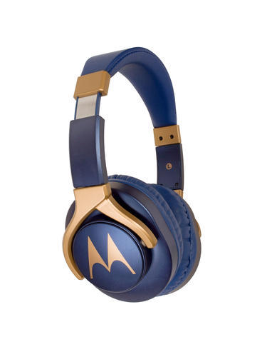 Blue-Gold Motorola Pulse 3 Max Wired Over-ear Headphones, Rs 2599 ...