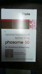 Phosome 50 Liposomal Amphoterecin B