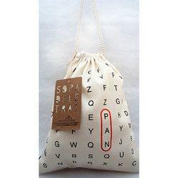 Print Drawstring Bag
