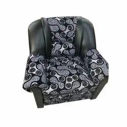 Black Modern Designer Single Seater Sofa Chair