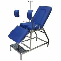 Blue Gynaecological Portable Chair