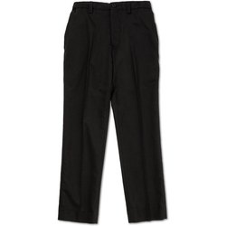Black Button, Zip School Student Formal Pant, Size: Medium