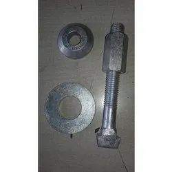 Stone Crusher Square Screen Bolt With Washer