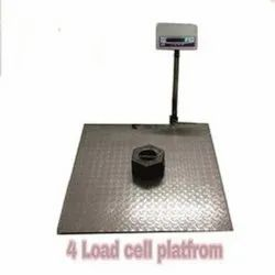 Dormant PLATFROM  Weighing Scale