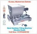 Liquid Filling Machine (Double Head)/Hand Sanitizer Filling Machine/Cream , Paste Filling Machine