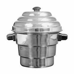Shikha Aluminium Idli Dhokla Cooker, For Home, Capacity: 2100 Ml