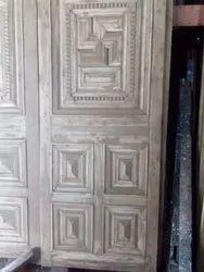 Wooden Designer Main Door