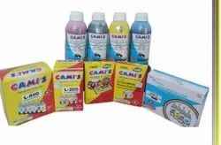 GAMI'S Refill Ink Set For Inkjet Printer  (Black,Cyan,Magenta & Yellow)