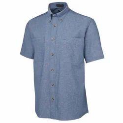 Cotton Plain Mens Corporate Shirt