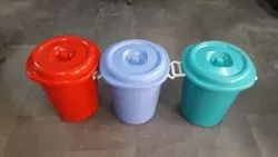 40l Dustbin With Flat Lid