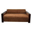 Designer Suede Sofa Set
