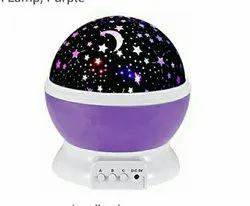 Black Plastic Star Master Projector Night Lamp